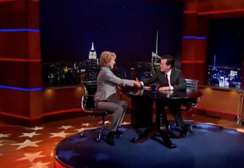 On The Colbert Report with Stephen Colbert, 2014