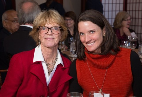 With daughter Anne, American Academy of Arts and Sciences
