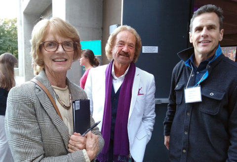 With Roger Bingham & Read Montague, Supercomputer Center, UCSD