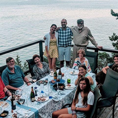 Churchland family dinner